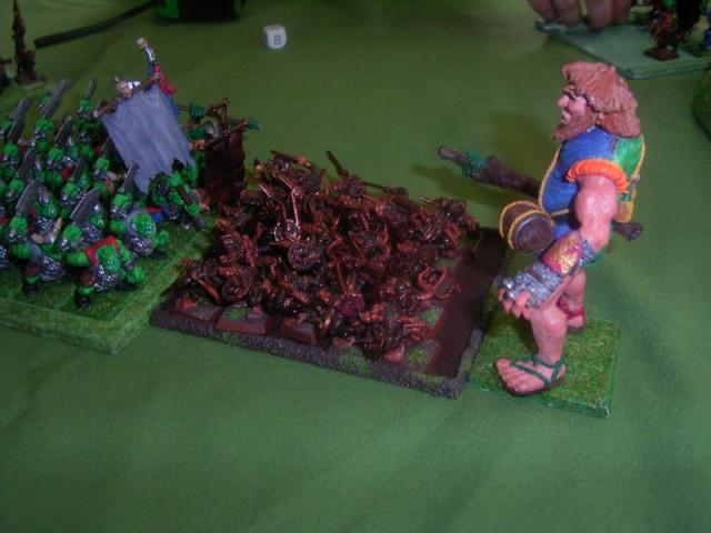 Orcs vs SKaven Giant Arrives.jpg